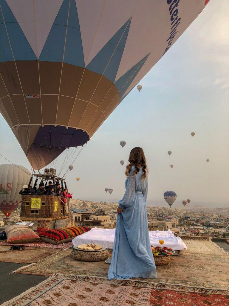 Ballonfahrt in Göreme Kappadokien