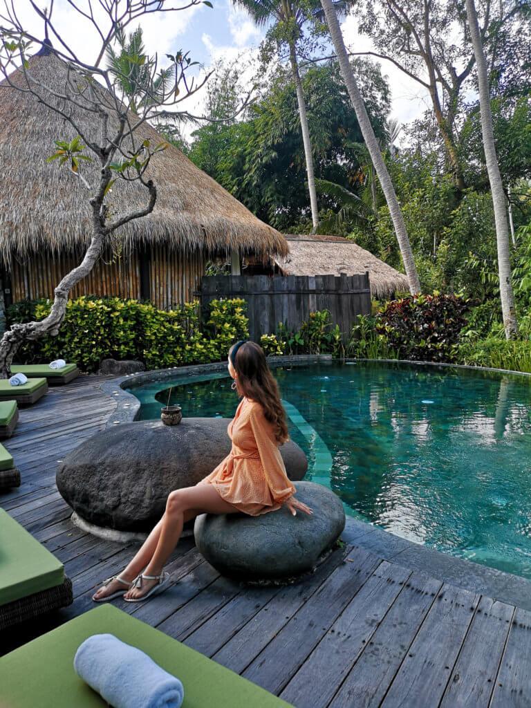 Pool Area Fivelements Bali Ubud