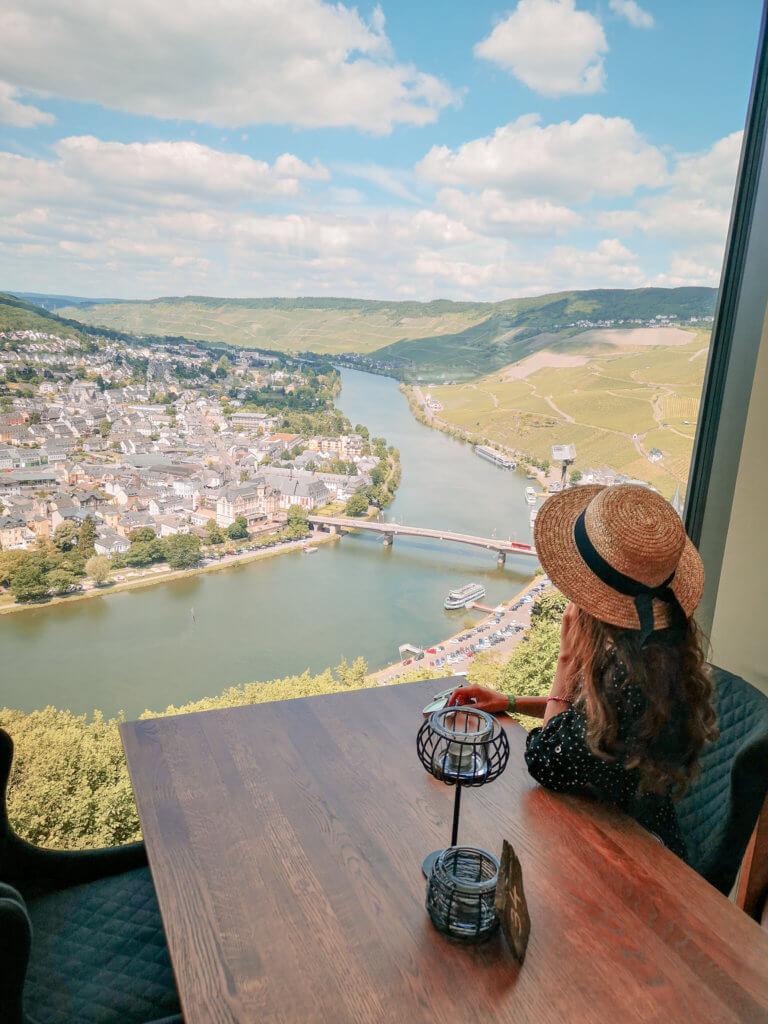 Unser Roadtrip an die Mosel im Juni: Restaurant Burg Landshut