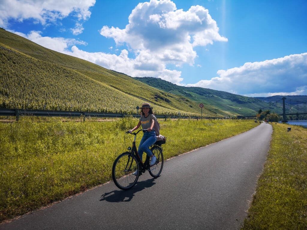 Unser Roadtrip an die Mosel im Juni: Fahrradtour
