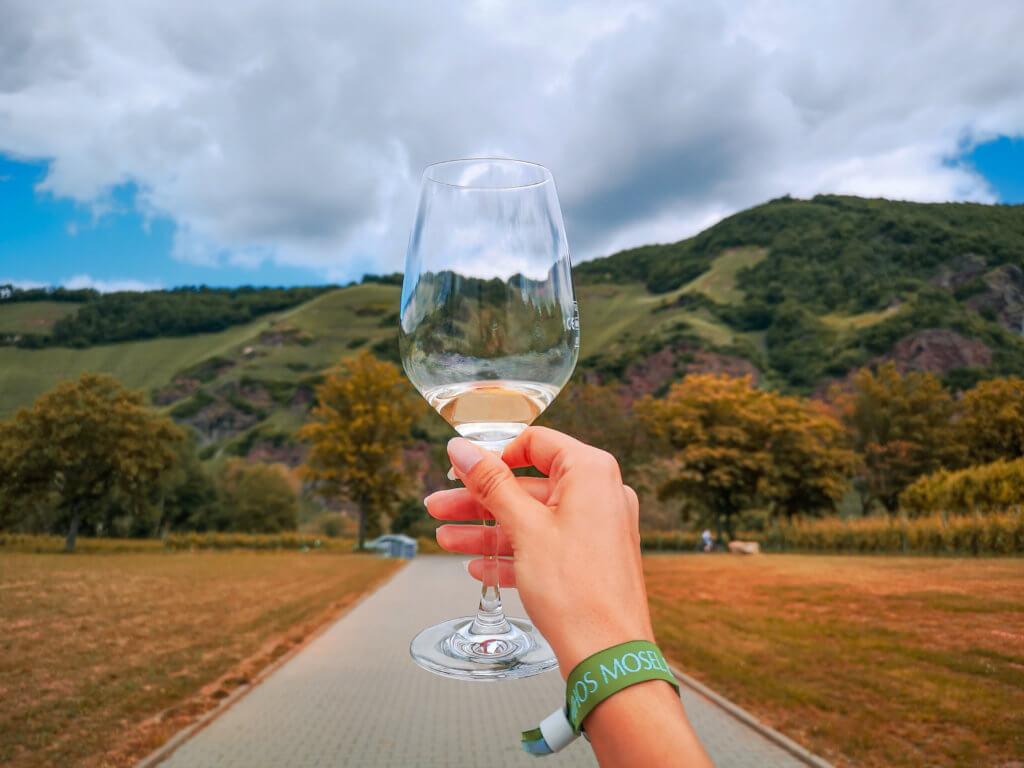Unser Roadtrip an die Mosel im Juni: Weinprobe mit Aussicht