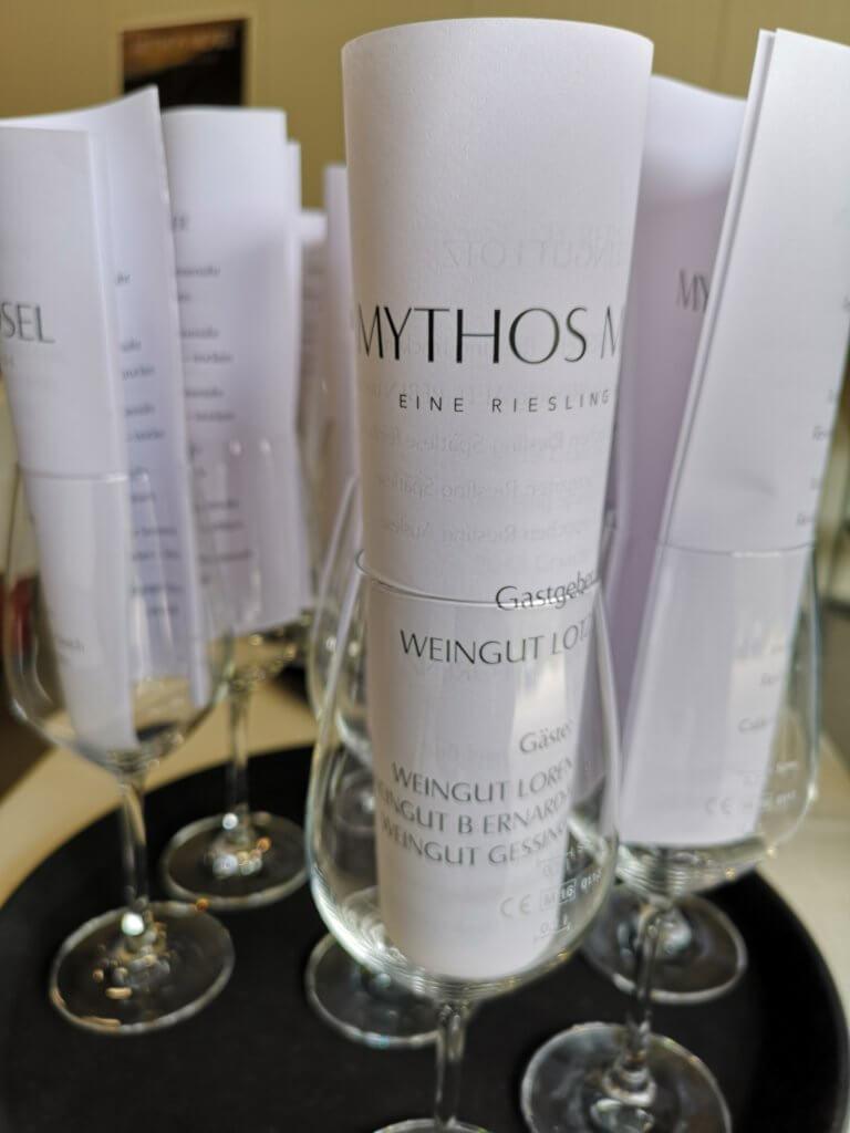 Unser Roadtrip an die Mosel im Juni: Mythos Mosel Weinkarte