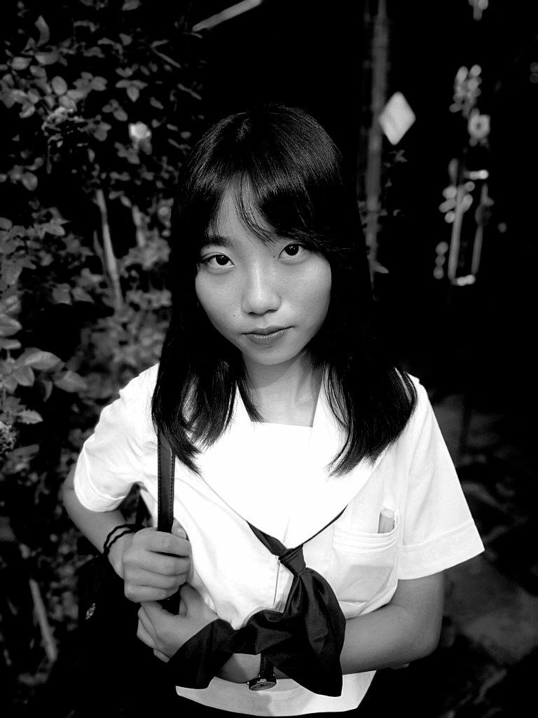 Mädchen in Suzhou