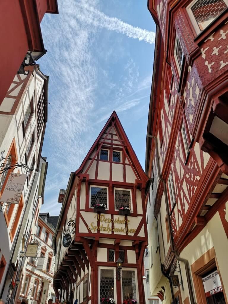Beliebtes Fotomotiv: Das Spitzhäuschen in Benrkastel-Kues