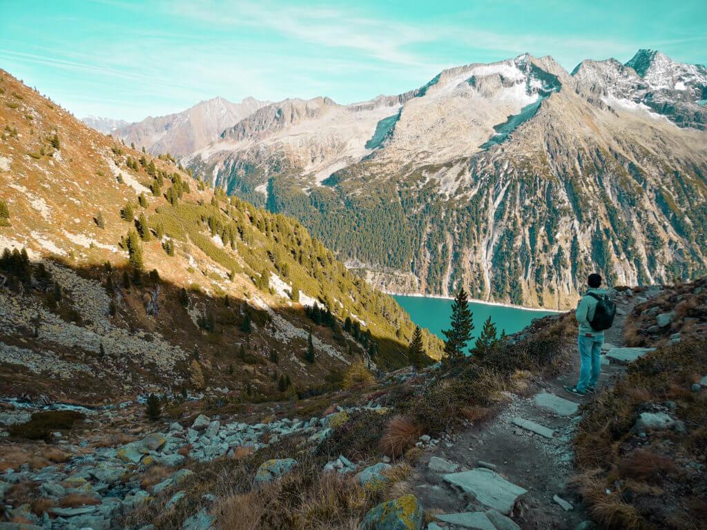 Wanderung im Zillertal Olpererhütte