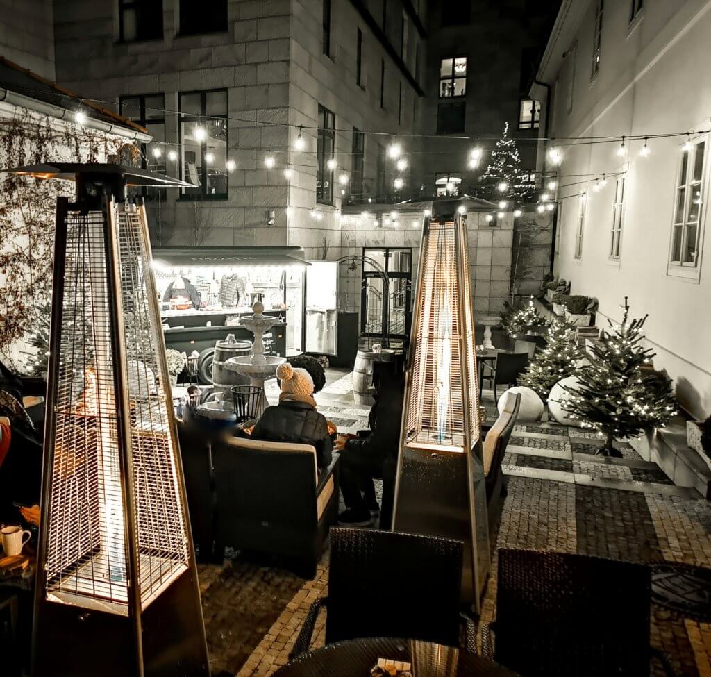Piazetta Pop-Up Restuarant im Four Seasons Prague