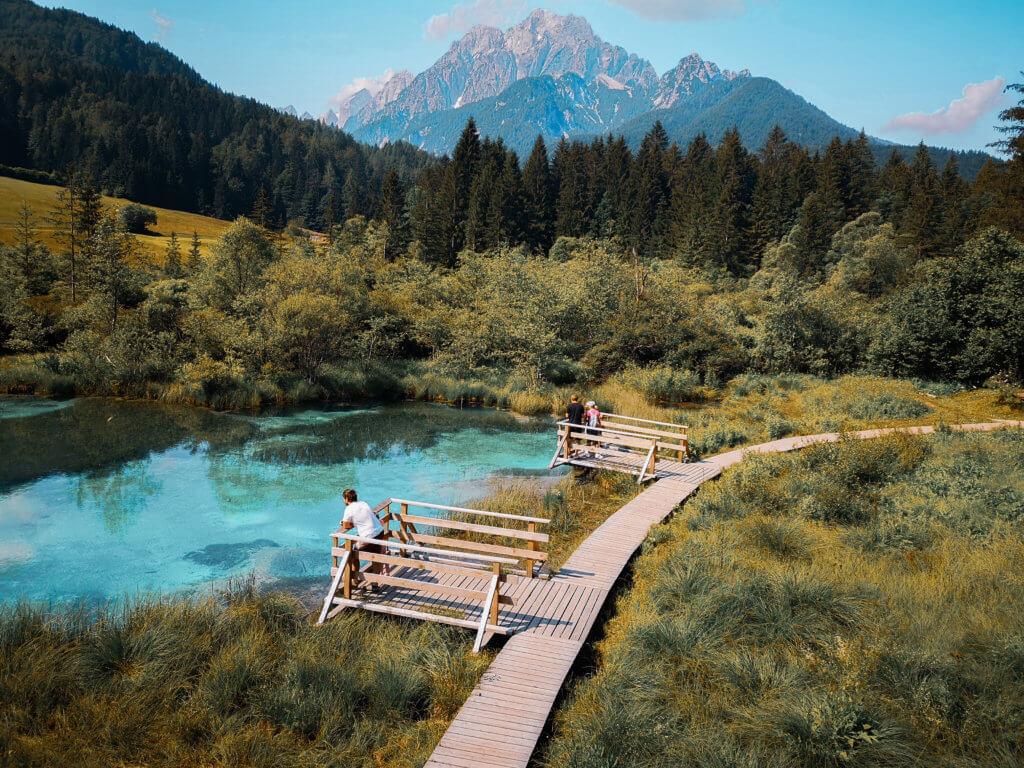 Zelenci Slowenien