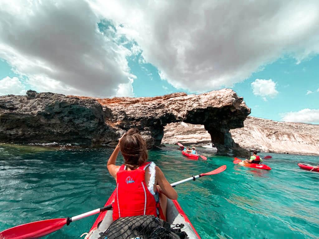 Kajak Trip Malta
