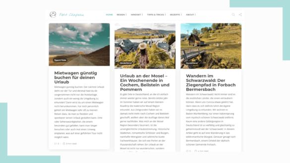 Wordpress Startseite Petit Chapeau