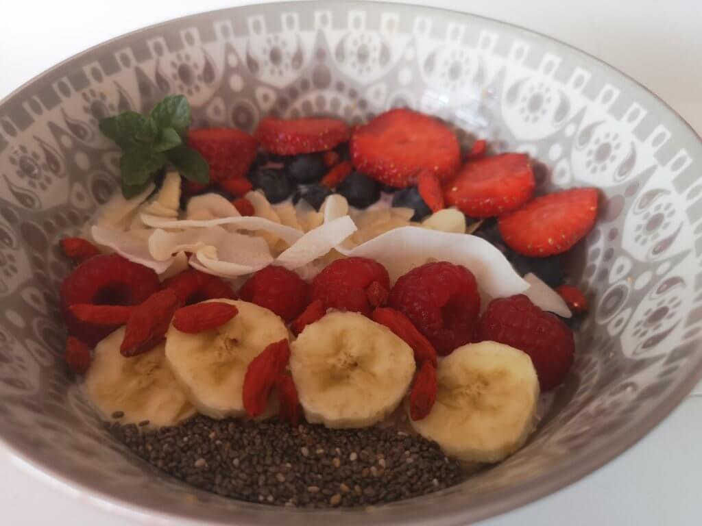 Gesundes und veganes Bali Bowl Rezept